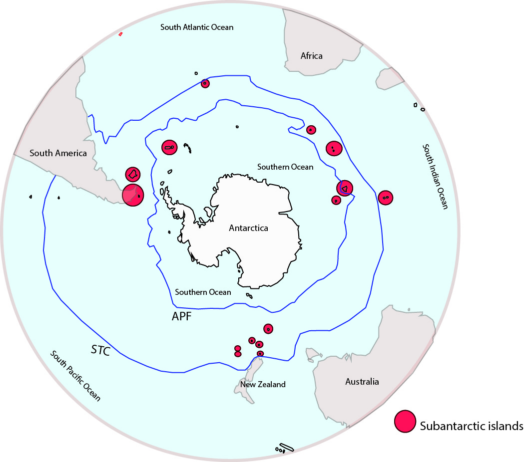 sub-antarctic islands