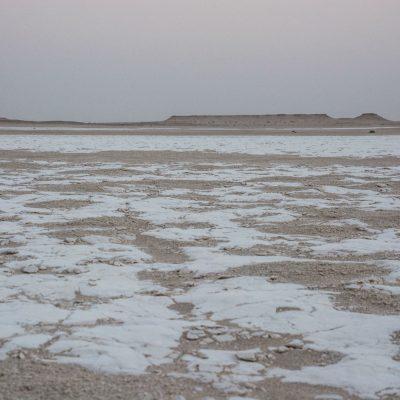 Sabkha - salt desert