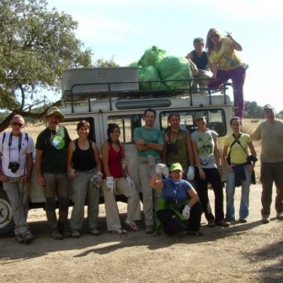 2007 - Volunteers in Andujar National Park