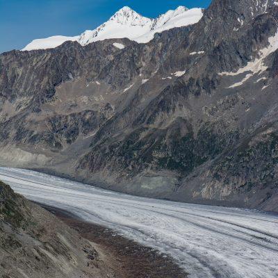 Aletsch glacier (Switzerland)