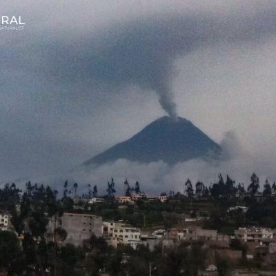 Tungurahua volcano (Ecuador)