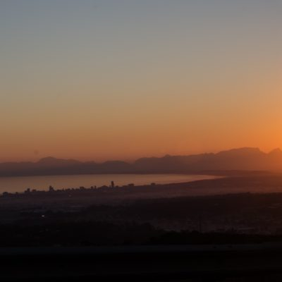 False Bay sunset