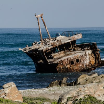 Shipwreck Agulhas