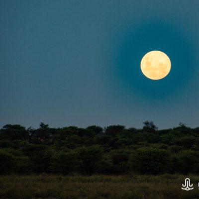Mabuasehube moon