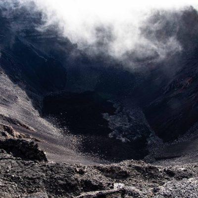Crater Piton de la fournaise
