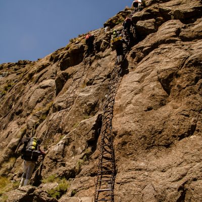 Chains ladder hike
