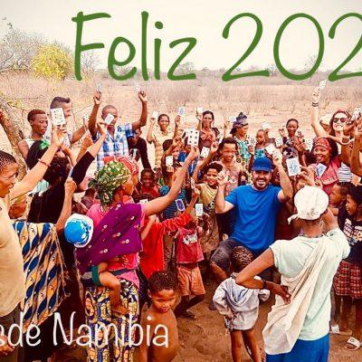 Feliz 2020 desde Namibia