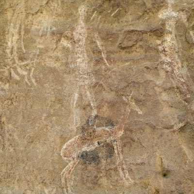 Rock paintings Lesotho