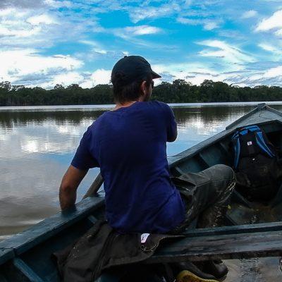 Tambopata lake